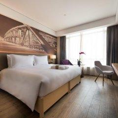 Отель Mercure Shanghai Hongqiao Airport 4* Стандартный номер с различными типами кроватей фото 3