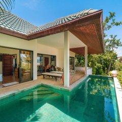 Отель 3 Bedroom Sea View Villa - Plai Laem (APS3) Таиланд, Самуи - отзывы, цены и фото номеров - забронировать отель 3 Bedroom Sea View Villa - Plai Laem (APS3) онлайн бассейн