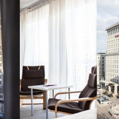 Отель Apartment4you Wilcza Студия с различными типами кроватей фото 16