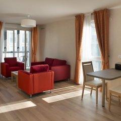 Отель Domitys Le Pont des Lumières Франция, Лион - отзывы, цены и фото номеров - забронировать отель Domitys Le Pont des Lumières онлайн комната для гостей фото 3