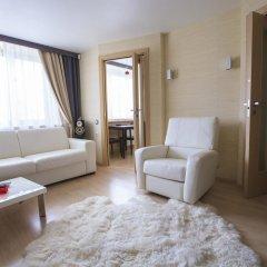 Апартаменты Grandvill Apartments on Karla Marksa Мурманск комната для гостей фото 4