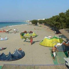 Отель Kremasti Memories пляж