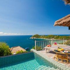 Отель Cape Shark Pool Villas 4* Семейная студия с двуспальной кроватью фото 5