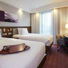 Отель Hampton by Hilton London Waterloo 3* Стандартный номер с различными типами кроватей фото 10