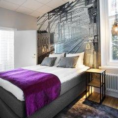 Отель Livin Station Швеция, Эребру - отзывы, цены и фото номеров - забронировать отель Livin Station онлайн комната для гостей фото 5