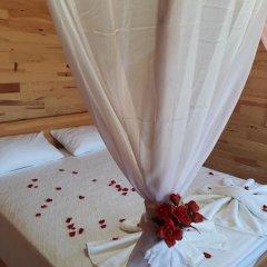 Отель Cirali Flora Pension 3* Стандартный семейный номер с двуспальной кроватью фото 20