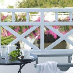 Отель Santorini Kastelli Resort 5* Улучшенный номер с различными типами кроватей фото 4