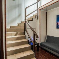 Мини-Отель Внучка Улучшенный номер с разными типами кроватей фото 7