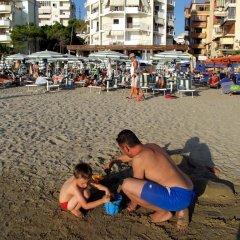 Отель Arberia Албания, Голем - отзывы, цены и фото номеров - забронировать отель Arberia онлайн пляж