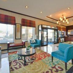 Отель Holiday Inn Express Kennedy Airport США, Нью-Йорк - 2 отзыва об отеле, цены и фото номеров - забронировать отель Holiday Inn Express Kennedy Airport онлайн комната для гостей фото 2