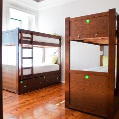 Lisb'on Hostel Кровать в общем номере с двухъярусной кроватью фото 8