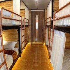 Sleep Owl Hostel Кровать в общем номере с двухъярусной кроватью фото 16