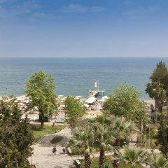 Отель Queen's Park Turkiz Kemer - All Inclusive пляж