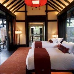 Отель Banyan Tree Lijiang 5* Вилла разные типы кроватей фото 6
