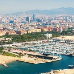 Отель Pullman Barcelona Skipper пляж фото 2