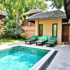 Отель Baan Khao Hua Jook 3* Вилла Делюкс с различными типами кроватей фото 7