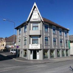 Stavanger Lille Hotel & Cafe 3* Номер с общей ванной комнатой с различными типами кроватей (общая ванная комната) фото 3