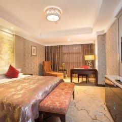 Отель Hangzhou Hua Chen International 4* Представительский номер с различными типами кроватей фото 2