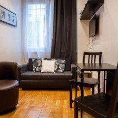 Апартаменты Montmartre Apartments Leo Ferre Париж комната для гостей фото 4