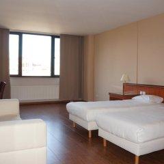 Отель Escale Hotel Бельгия, Брюссель - отзывы, цены и фото номеров - забронировать отель Escale Hotel онлайн комната для гостей фото 5