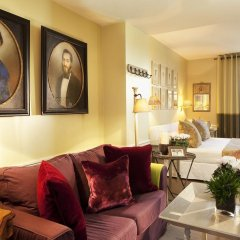 Отель Hôtel Sainte-Beuve 4* Стандартный номер с различными типами кроватей фото 3