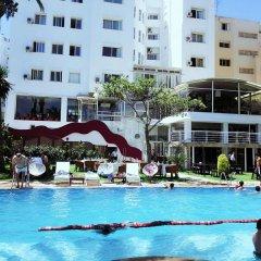 Отель Rembrandt Марокко, Танжер - отзывы, цены и фото номеров - забронировать отель Rembrandt онлайн бассейн фото 2