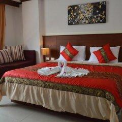 Отель Sharaya Residence Patong 3* Номер Делюкс двуспальная кровать фото 4