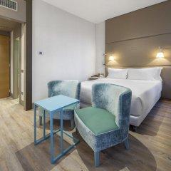 Отель NH Milano Touring 4* Улучшенный номер разные типы кроватей фото 15