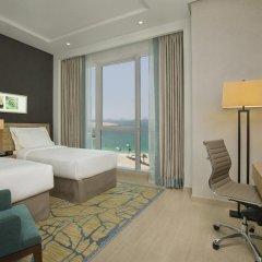 Отель DoubleTree by Hilton Dubai Jumeirah Beach 4* Люкс с различными типами кроватей фото 6