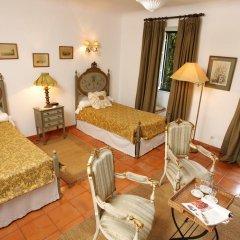 Отель Quinta Da Praia Das Fontes 4* Улучшенный номер с различными типами кроватей фото 5