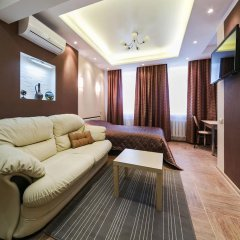 Апартаменты City Apartments Belorusskaya комната для гостей фото 4