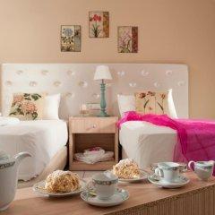 Notos Heights Hotel & Suites 4* Улучшенная студия с различными типами кроватей фото 14