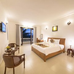 Отель Luna Villa Homestay 3* Номер Делюкс с различными типами кроватей фото 13