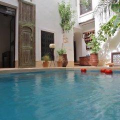 Отель Riad Tawanza Марокко, Марракеш - отзывы, цены и фото номеров - забронировать отель Riad Tawanza онлайн бассейн