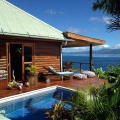 Отель Naveria Heights Lodge Савусаву бассейн фото 2
