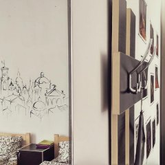 Рандеву Хостел Кровать в общем номере с двухъярусной кроватью фото 14