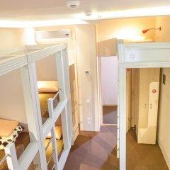 Хостел Привет Кровать в мужском общем номере двухъярусные кровати фото 5