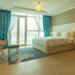 Отель Jannah Marina Bay Suites Студия Делюкс с различными типами кроватей