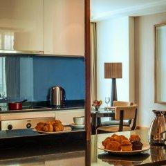 Отель InterContinental Residence Suites Dubai Festival City 4* Студия с различными типами кроватей фото 3