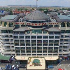 Planeta Hotel & Aqua Park парковка