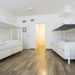 Отель Equity Point Prague Кровать в общем номере с двухъярусной кроватью фото 22