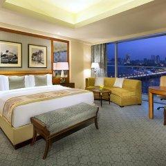 Отель The Nile Ritz-Carlton, Cairo 5* Номер Делюкс с различными типами кроватей фото 5