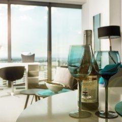 Отель Apartamenty Sky Tower Студия с различными типами кроватей фото 11
