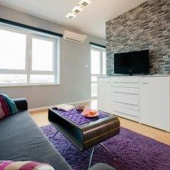 Отель Platinum Towers E-Apartments Польша, Варшава - отзывы, цены и фото номеров - забронировать отель Platinum Towers E-Apartments онлайн комната для гостей фото 3