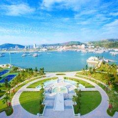 Отель Vinpearl Resort & Spa Ha Long пляж фото 2