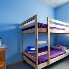 Хостел Высшая Лига Кровать в общем номере с двухъярусной кроватью фото 4