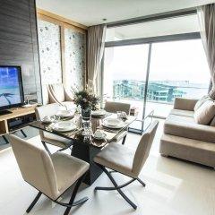 Отель Casalunar Paradiso Condo By Kt Таиланд, Чонбури - отзывы, цены и фото номеров - забронировать отель Casalunar Paradiso Condo By Kt онлайн комната для гостей фото 3