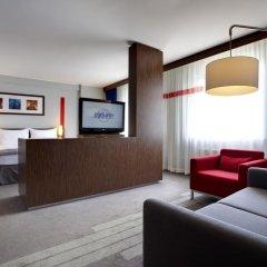 Гостиница Park Inn by Radisson Sheremetyevo Airport Moscow 4* Стандартный номер разные типы кроватей фото 4