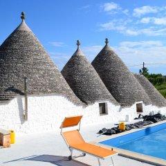 Отель La Civetta B&B Италия, Альберобелло - отзывы, цены и фото номеров - забронировать отель La Civetta B&B онлайн бассейн фото 2