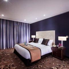 Отель Oakwood Premier Coex Center Улучшенные апартаменты с различными типами кроватей
